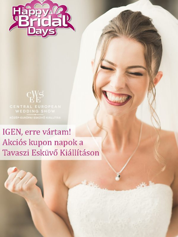 Happy Bridal days millenáris